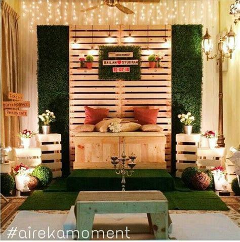 Backdrop Wedding Murah pelamin rustic by airekamoment ig pelamin