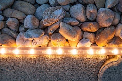 3 Borderline Genius Ways To Use Rope Light In Your Landscape Rope Lighting