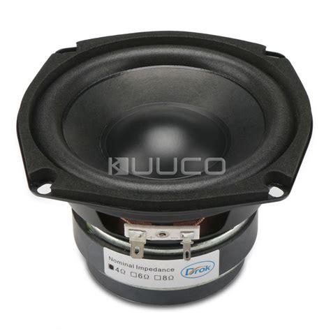 Speaker Woofer 5 Inch 40w woofer speaker magnetic speaker 4 5 inch 4 ohms hi fi shocking bass speaker audio