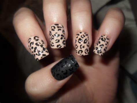 easy nail art cheetah cheetah nails art divas stalk
