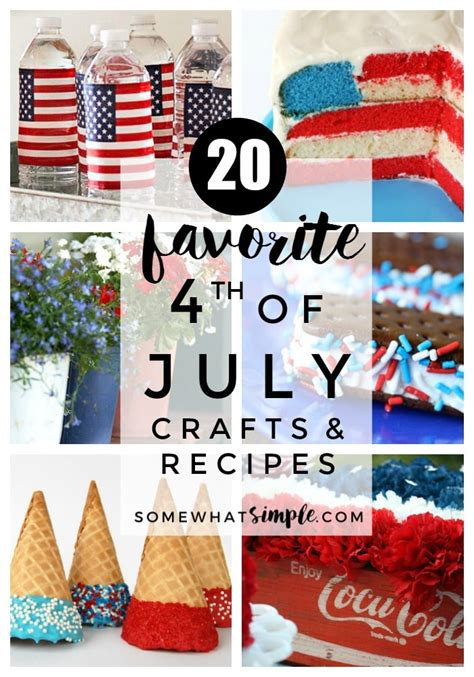fourth of july favorites the fourth of july recipes crafts 20 favorite ideas