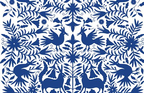 pattern in image otomi vector patterns on behance