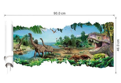 dinosaurier badezimmer wandtattoo wandbild wandaufkleber kinderzimmer dinosaurier