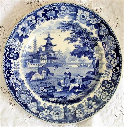 french pattern blue and white blue and white transfer ware page 2 applecross antiques