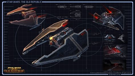 tile pattern star wars kotor sith fury class interceptor from star wars the old