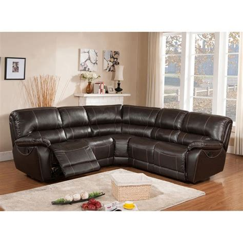 Brown Reclining Sectional Sofa 25 Best Ideas About Reclining Sectional Sofas On Pinterest Reclining Sectional Brown