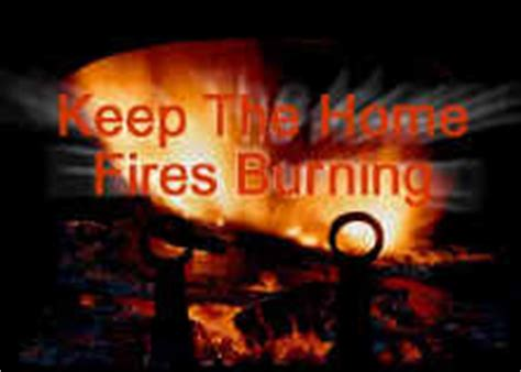 keep the home fires burning 1918