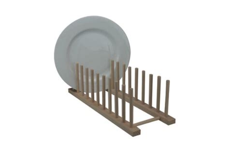 Wood Dish Drying Rack by Wood Wooden Kitchen Sink Dish Drainer Sturdy Plate Cups