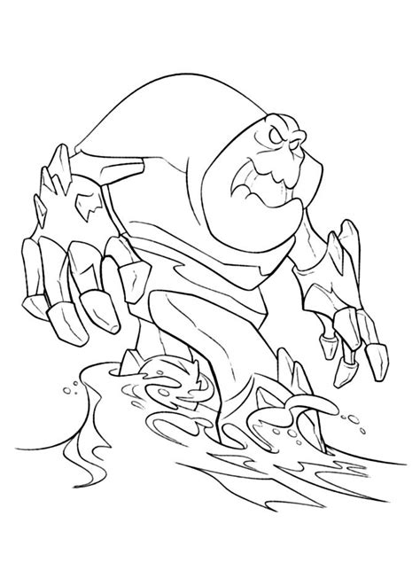 snow monster coloring page frozen monster coloring pages coloring frozen the snow