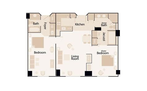 elara 4 bedroom suite floor plan elara 2 bedroom suite premier floor plan www indiepedia org