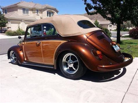 Iplayaz Vw Beetle Car Rocks Along With Your Tunes by Wood Paneling Convertible Beetle Das Vintage Vw Beetle S