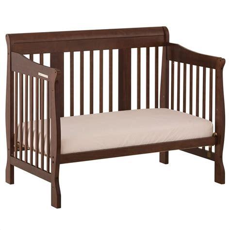 Espresso Baby Crib 4 In 1 Stages Baby Crib In Espresso 04588 499