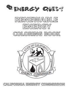 here s a 12 page coloring book on solar energy energy