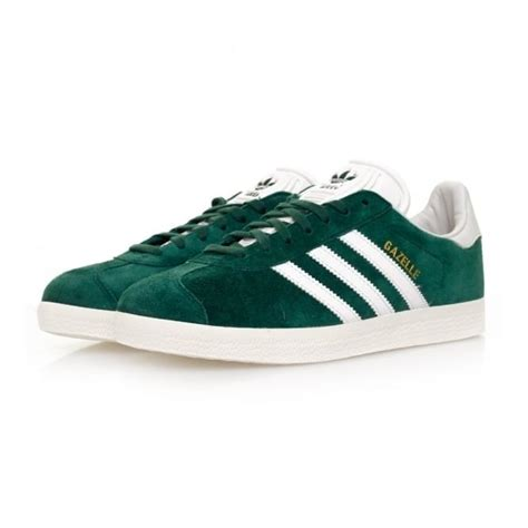 adidas originals gazelle green suede shoes  arrivals