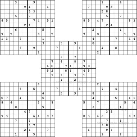 sudoku insane printable 8 best samurai sudoku images on pinterest samurai