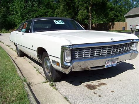 1970 Chrysler Imperial For Sale by Buy Used 1970 Chrysler Imperial Lebaron 7 2l In Rockford