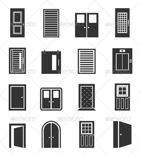 Halloween Decorations Made At Home door icons graphicriver