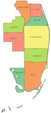 florida s southeast counties 2007