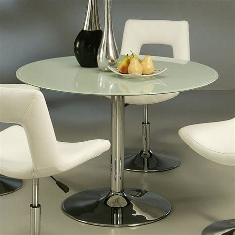 Frosted Glass Dining Tables Pastel Furniture Sundance Dining Table In Frosted Glass Su 515 4417 Kit