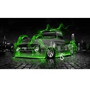 Ford F100 Truck Green Fire Crystal Car 2013 HD Wallpapers By Tony