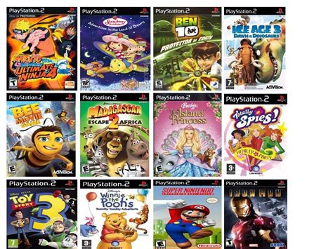 Cd Playstation Buku Ps 2 Ben 10 jogo infantil para playstation 2 kit 10 jogos ps2 crian 231 a