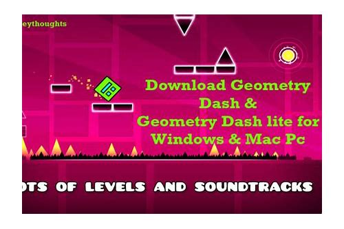 herunterladen geometry dash lite macbook