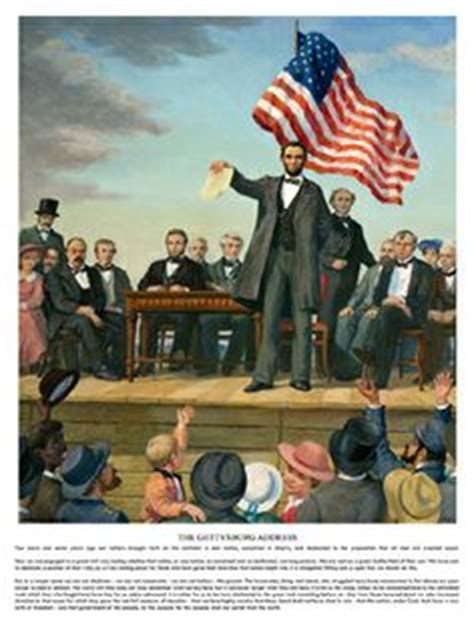 up of gettysburg address by abraham lincoln poster 1000 ideas about gettysburg address text on