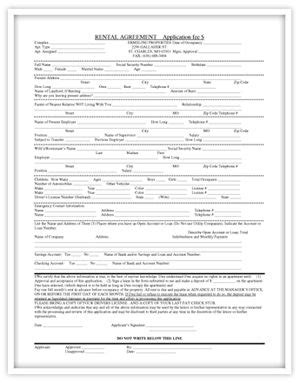 print out lease agreement pictures to pin on pinterest print out lease agreement our rental agreement