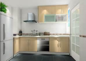 And Refrigerator 3d House Kitchen Interior Simple 3d Interior Kitchen