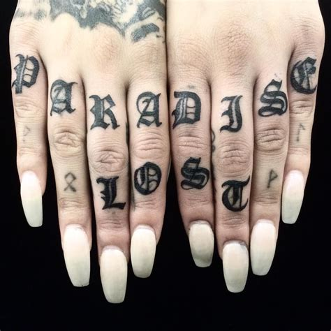 tattoo expression 50 individual knuckle designs ideas self