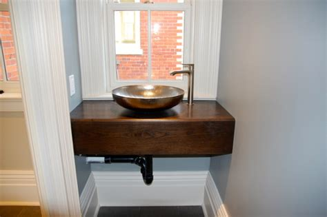 free standing sink bathroom