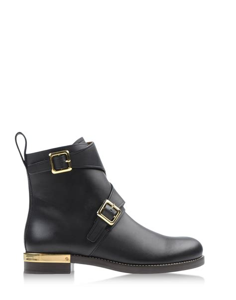 ankle boots black chlo 233 ankle boots in black lyst