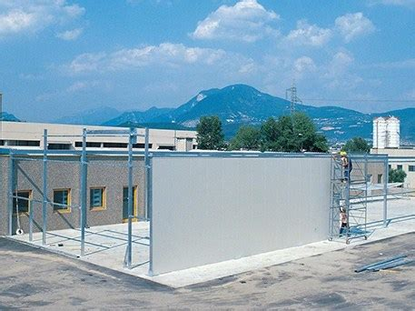 capannoni in pannelli sandwich elemento strutturale prefabbricato per copertura capannoni