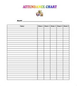 9 attendance sheet templates word excel pdf formats