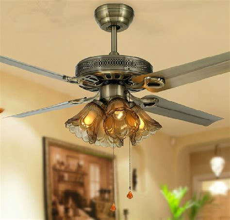 48 Inch Ceiling Fan With Lights 3 White Or Brown Blades 48 Inch Ceiling Fans With Lights
