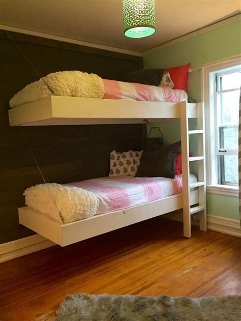 bunk bed desk on pinterest loft bed plans desk plans floating bunk beds and desk do it yourself home projects