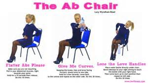 Office Chair Ab Workout Pin By Lwr Fitness On How To Get Rid Of A Muffin Top