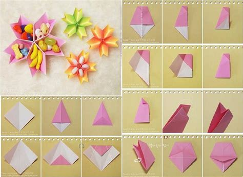 How To Make Flowers With Paper Step By Step - how to make paper flower dish step by step diy tutorial