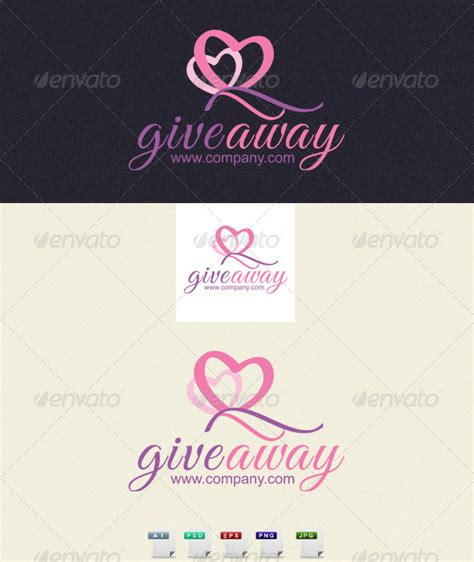 Giveaway Logo Template By Designismorero Graphicriver Giveaway Template