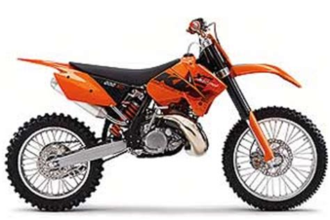 2006 Ktm 200 Xcw 2006 Ktm 200 Xc Motorcycles Moto123