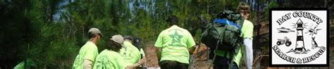 Bay County Search Bay County Search And Rescue Bcso Sar Quot Our Is You Never Need Us Our Goal