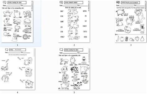 imagenes variadas en ingles variadas fichas sobre animales en ingl 201 s