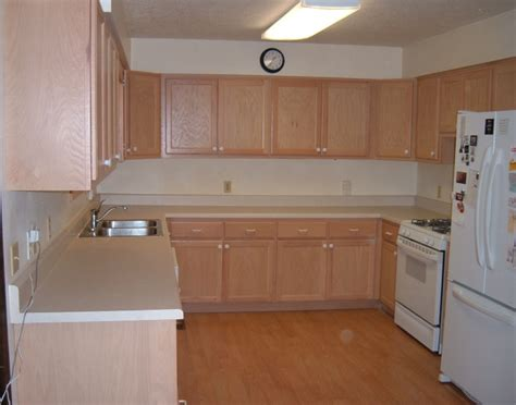 flat kitchen cabinets flat panel oak kitchen cabinets