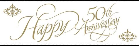 wedding anniversary clip happy 50th anniversary clipart clipground
