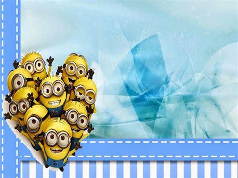 imagenes de los minions wallpapers hd minions en fondo azul mini kit para imprimir gratis