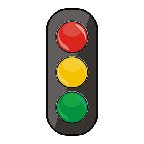 Traffic Light by Vector For Free Use Traffic Lights