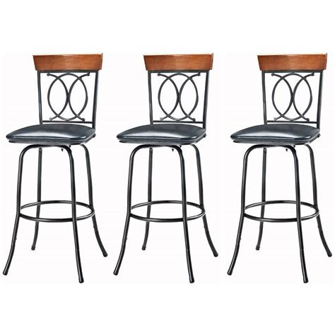 linon home decor bar stools linon home decor o and x adjustable height brown cushioned