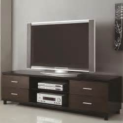 Tv Stand Bookshelves 4 Drawer Two Tone Tv Stand With 2 Shelves