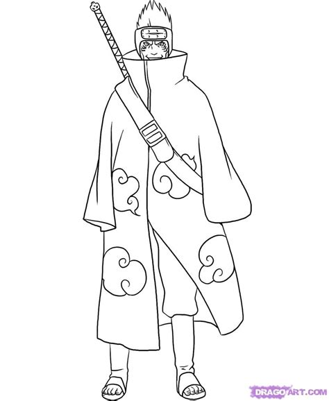 coloring pages of naruto shippuden characters free coloring pages of gaara shippuden