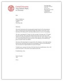 Business Letter With Letterhead Cbs Digital Services